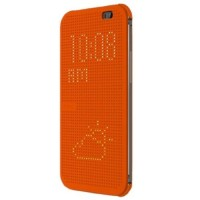 Чехол HTC One E8 dot case orange (HC M110)