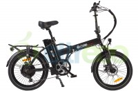 Электровелосипед ELTRECO JAZZ 500W (SPOKE MATT BLACK)