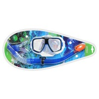 55948 Набор INTEX Reef Rider Swim (маска,трубка), 8+