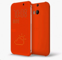 Чехол HTC One M8 dot case orange (HC M100)
