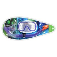 55950 Набор INTEX Reef Rider Swim (маска,трубка), 8+