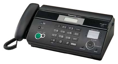 Факс Panasonic KX-FT984RU Black (черный)