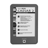 Электронная книга ONYX BOOX CAESAR 2 (темно-серая, Carta, SNOW Field, Android, MOON Light, 8 Гб)