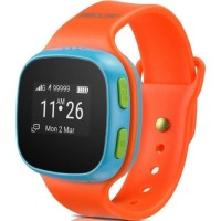 Смарт-часы Alcatel Move Time Track&Talk Watch (SW10), Orange Blue