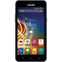 Смартфон Philips Xenium V526 LTE Black/Blue