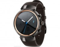 Смарт-часы ASUS ZenWatch 3 WI503Q (gunmetal with brown rubber)